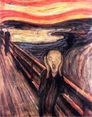 politiet har ransaket en leilighet på jakt etter de stjålne Munch-maleriene