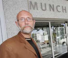 Munch-museets leder, Gunnar Sørensen, sier at utmeldingen ble gjort ut i fra en helhetsvurdering. Foto: Scanpix