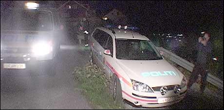 Drapet skjedde i eit husvære i Sogndal søndag kveld. (Foto: Arve Uglum, NRK)