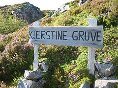 Kjerstine gruver - Foto: Ann Jones, NRK