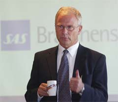 Petter Jansen i SAS Braathens.