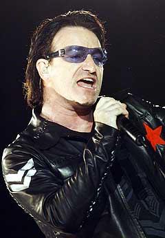 Et eksemplar ble stjålet av U2s kommende album, men plateselskapet holder på utgivelsesdatoen 15. november. Foto: SCANPIX.