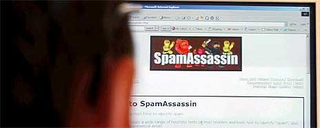 <b>Av all spam som sendes, kommer nesten halvparten fra USA.</b> <i>Illustrasjonsfoto: AP/Scanpix</i>