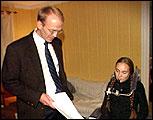 Advokat Christian Lundin representerte også Katrine Bråtane da hun vant fram i Høyesterett i fjor.