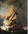 """Rembrandts """"Storm på Galilea-sjøen"""" er sporløst forsvunnet."""
