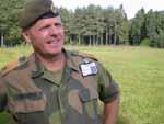 Arve Senderud, fungerende sjef og brigadier på Jørstadmoen.
