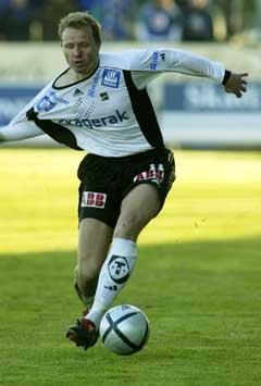 Morten Knutsen sendte Odd til UEFA-cupen. (Foto:Morten Holm / SCANPIX)