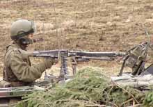 To våpen av denne typen ble tatt fra militærlagret på Jørstadmoen.