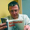 Lars Nilsen i det filosofiske hjørne. Foto: Per Kristian Johansen, NRK