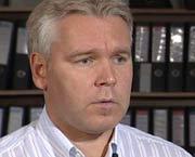 Advokat Per Sjong Larsen. Foto: NRK.