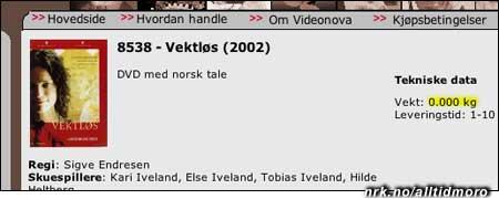 """(Denne tar vi med under tvil, det er vel strengt tatt mer trist enn morsomt...) I dokumentarfilmen """"Vektløs"""" forteller sangerinnen Kari Iveland om sitt liv som anorektiker."""
