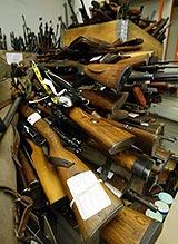 Hedmarkingene leverte inn 3.730 våpen under amnestiet.(Foto:SCANPIX)