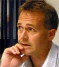 Geir Holstad, adm.dir. i Ulstein elektro ser lyst på framtida. (Foto: Alf-Jørgen Tyssing)
