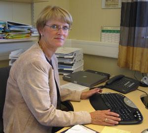 Unni Gjelten i Utdanningsforbundet er positiv til høyere karakterkrav. (Foto: Ola Bjørlo Strande/NRK)