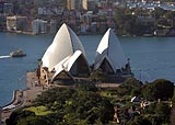 Opraen i Sidney - et kjent australsk landemerke