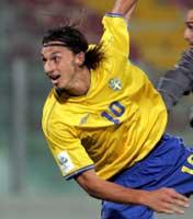 Zlatan Ibrahimovic har høye tanker om Sveriges VM-sjanser (Foto: SCANPIX)