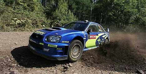 Petter Solberg kan helt klart kjøre bil. Nå vil han diskutere sikkerhet med ministeren. (Foto: www.swrt.com)