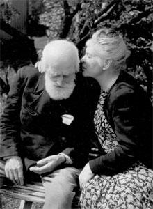 Knut og Marie Hamsun. (Foto: Scanpix)