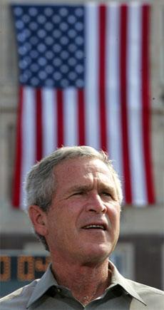 President George W. Bush har gjort kampen mot terrorisme til sin kampsak. (Foto: Reuters/Scanpix)