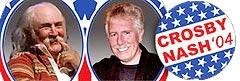 David Crosby og Graham Nash stiller som presidentkandidater!