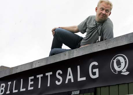 Festivalsjef Toffen Gunnufsen har planer om å arrangere en noe kortere Quart-festival neste år. Foto: Scanpix