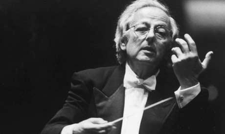 André Previn lagde fiolinkonserten som bryllupsgave til konen Anne-Sophie Mutter. Foto: Scanpix