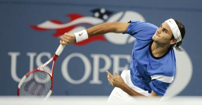 Roger Federer, helt suveren i tennis. (Foto: Scanpix)