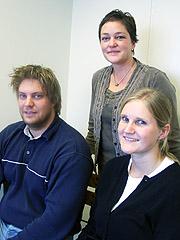 Pål Asknes, Elise Korsvik og Kristine Kvame i Forbrukerrådet.