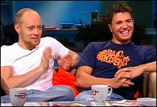 Aksel Hennie og Nicolai Cleve Broch spiller hovedrollene i «Uno», som Aksel Hennie også har skrevet og regissert