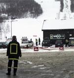 Ulykken skjedde i påska i år. Foto: Scanpix.