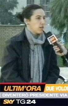 Simona Torretta er også gissel i Irak (Foto:Scanpix)