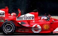 Ferrari-førerene hadde god grunn til å juble på Moza-banen. (Foto: Scanpix)