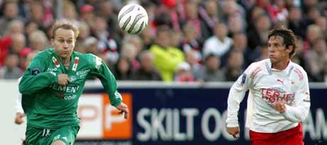 Fredrikstad vant tre meget viktige poeng mot Ham-Kam. (Foto: Morten Holm/Scanpix)