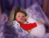 Det er typisk for barn med migreneanfall at de vil ligge i ro i mørket.