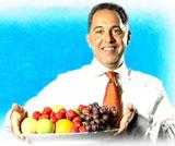 Mandag 8. november svarer Fedon Lindberg deg på spørsmål du har om kost og helse. Foto: NRK, Puls