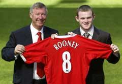 Sir Alex Ferguson vil beskytte sin nye juvel, Wayne Rooney. (Foto: Scanpix)