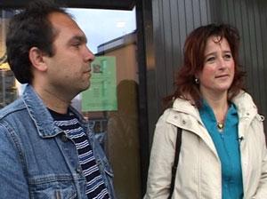 Anita Salamonsen er flyktningeguide i Lillehammer for Ahmad Shan Jalali.