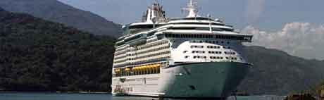 Royal Caribbean Cruises flagger ut seks skip. Foto: Daniel Morel ,AP