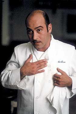 Artie Bucco guider deg gjennom det napolitansk-amerikanske kjøkken. Foto fra boken, Damm forlag.