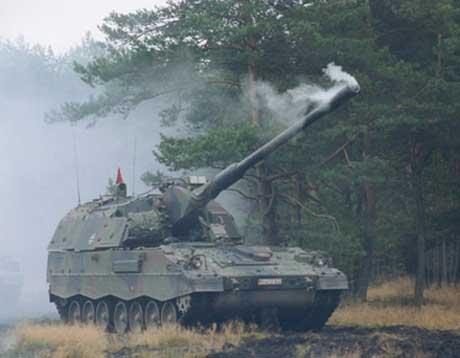 Artillerivogna Norge ikke får - PzH 2000 (C. Krauss-Maffei Wegmann)
