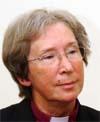 Biskop Rosemarie Köhn deltok på seks av konsertene. (Foto: Scanpix).