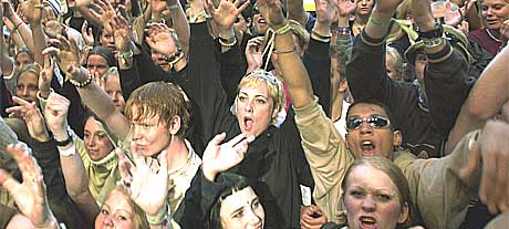 Quartstyret håper på større jubel og enda flere publikummere neste år (Foto Heiko Junge/Scanpix)