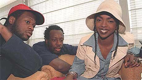 Pras, Wyclef Jean og Lauryn Hill er venner igjen. Foto: Morten Holm, Scanpix.