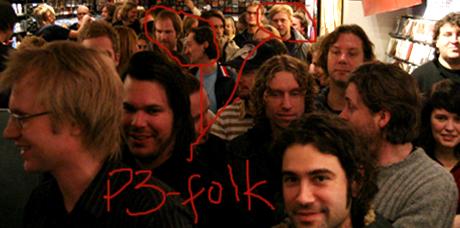 Hvis Ragnhild knyser overlegent av maset ditt kan et 3. alternativ være å imponere andre P3-folk, som Knut, Torgeir eller Tore. De hilser på Håkon i gangene...