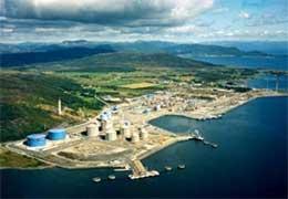 Gasskraftverket som er tenkt bygt på Kårstø (Foto: Naturkraft)