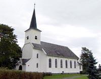 Hareid kyrkje (Foto: NRK)