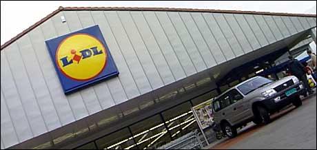 Slik ser LIDL-butikken ut i Florø. Foto: NRK