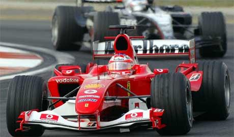Rubens Barrichello i Kina i fjor. (Foto. AP/Scanpix)