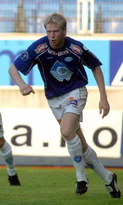 Anders Hasselgård scoret Moldes første mål. (Foto: Per-Tormod Nilsen / SCANPIX)