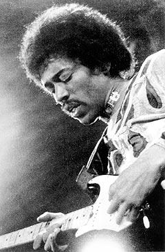 Jimi Hendrix + LSD + Stratocaster